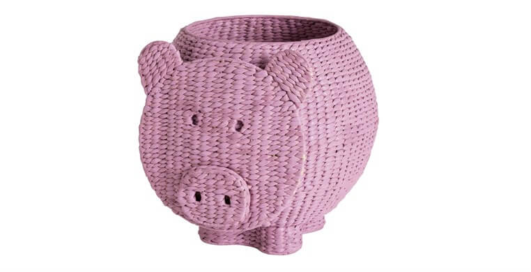 Pedro Pig Storage Basket